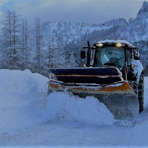 Schneeräumung winterdienst unterach slider